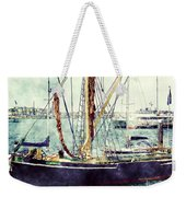 Portsmouth Harbour Boats Weekender Tote Bag
