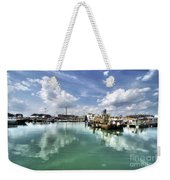 Portsmouth Old Harbour  Weekender Tote Bag