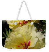 Portulaca Named Happy Hour Banana Weekender Tote Bag