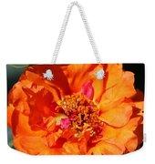 Portulaca Named Sundial Tangerine Weekender Tote Bag
