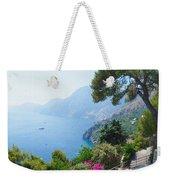 Positano Italy Amalfi Coast Delight Weekender Tote Bag