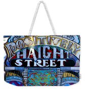 Positively Haight Street Weekender Tote Bag