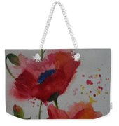 Positively Poppies Weekender Tote Bag