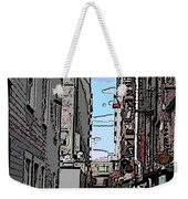 Post Alley 6 Weekender Tote Bag