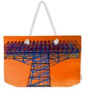 Post Apocalyptic Light Tower Weekender Tote Bag