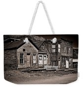 Post At Ten Thousand Feet Weekender Tote Bag