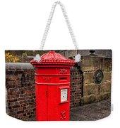 Post Box Weekender Tote Bag