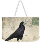 Post Card Nevermore Weekender Tote Bag by Edward Fielding