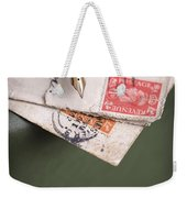 Post Cards And Fountain Pen Weekender Tote Bag