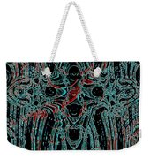 Post-historical Rock Art Weekender Tote Bag