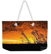 Post Hurricane Rita Clouds At Dockside In Beaumont Texas Usa Weekender Tote Bag