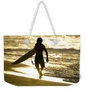 Post Surf Gold Weekender Tote Bag