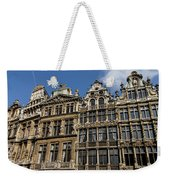 Postcard From Brussels - Grand Place Elegant Facades Weekender Tote Bag