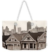 Postcard Row Bw Weekender Tote Bag