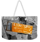 Posted Information 2 Weekender Tote Bag