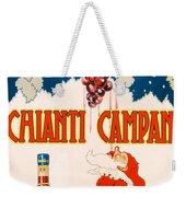 Poster Advertising Chianti Campani Weekender Tote Bag