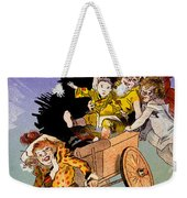 Poster For Aux Buttes Chaumont Toy Weekender Tote Bag