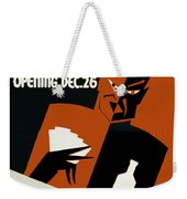 Poster For The Play The Devil Passes Weekender Tote Bag