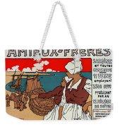 Poster Sardines, 1899 Weekender Tote Bag