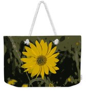 Posterized Smooth Oxeye Weekender Tote Bag
