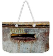Postman Hasn't Been Here Lately Weekender Tote Bag