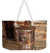 Potbelly Stove Weekender Tote Bag by Marty Koch