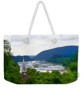 Potomac River At Harpers Ferry Weekender Tote Bag