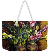 Pots And Flowers Weekender Tote Bag