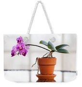 Potted Pink Orchid Weekender Tote Bag