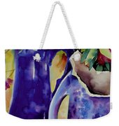 Pottery And Flowers Weekender Tote Bag