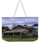 Pottsville Arkansas Historic Log Barn Weekender Tote Bag