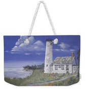 Poverty Island Lighthouse Weekender Tote Bag