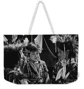 Pow-wow Buddies Weekender Tote Bag