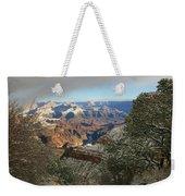 Powder Coated Canyon Weekender Tote Bag