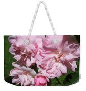 Powder Puff Pink Weekender Tote Bag
