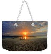 powder-white sand of Seven Mile Beach Weekender Tote Bag