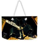 Powell Street Weekender Tote Bag