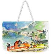 Power Boats World Championship In Barca De Alva 04 Weekender Tote Bag