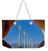 Power In The Hand Weekender Tote Bag