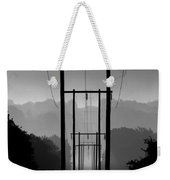 Power In The Morning Mist Weekender Tote Bag