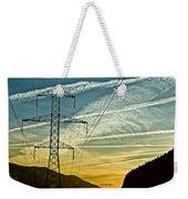 Power In The Sky Weekender Tote Bag