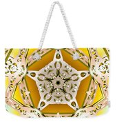 Power Of Gold Weekender Tote Bag