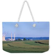 Power Plant Energy Weekender Tote Bag