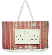 Power Socket Weekender Tote Bag