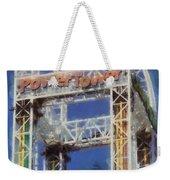 Power Tower Cedar Point Weekender Tote Bag