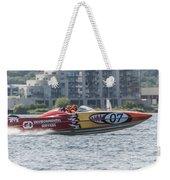 Powerboat 3 Weekender Tote Bag