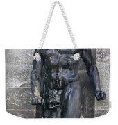 Powerscourt Fountain Sculpture Weekender Tote Bag