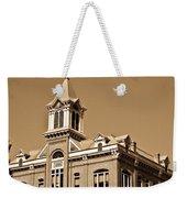 Powhatan Court House Sepia 5 Weekender Tote Bag