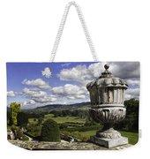 Powis Castle Garden Urn Weekender Tote Bag