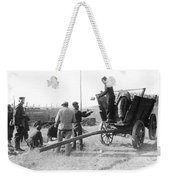 Pows Unload Cabbages For Lunch Weekender Tote Bag